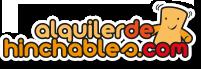 Logo alquiler de hinchables