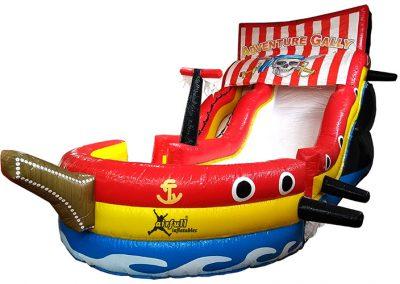 Tobogán barco pirata Airfull