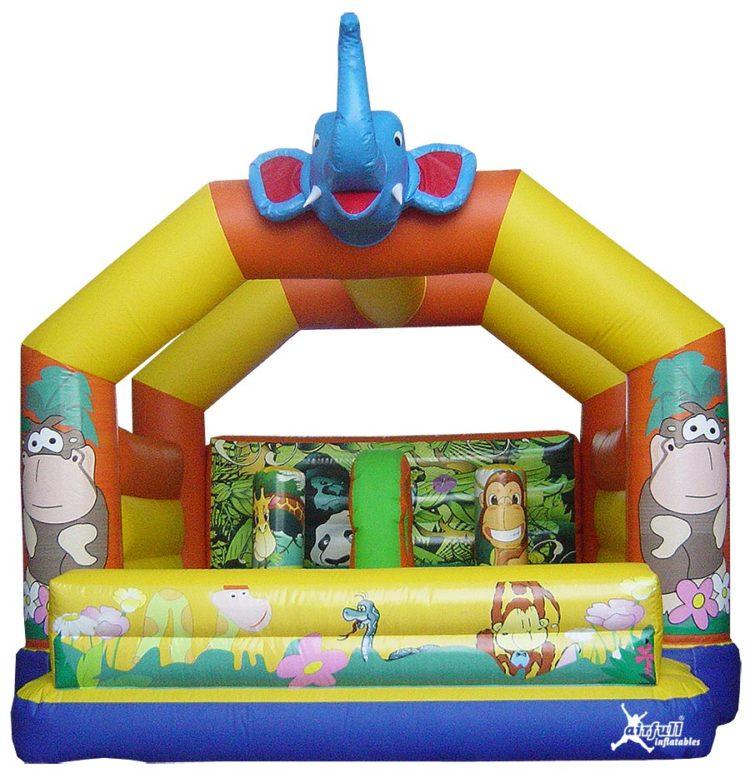 castillo hinchable elefante