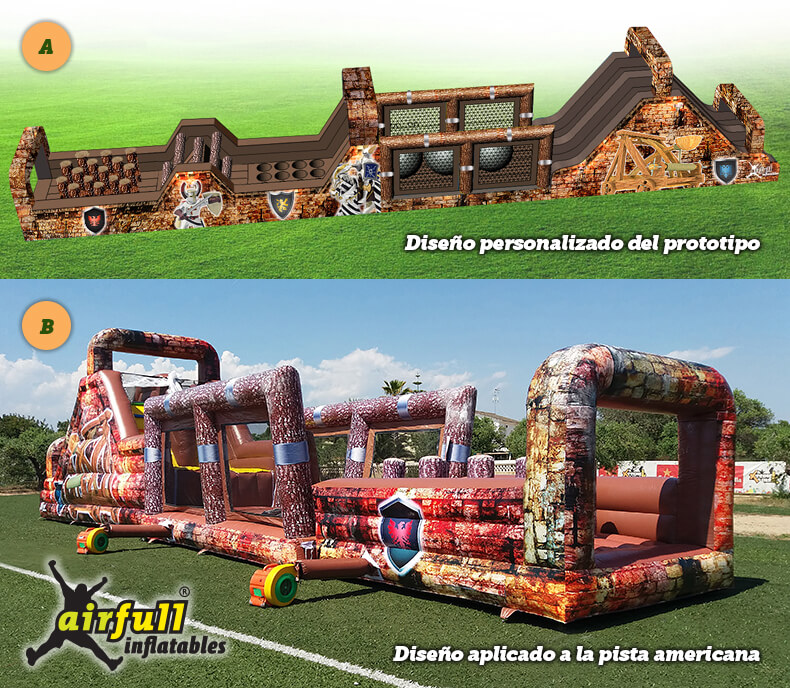 Diseños personalizados Airfull Inflatables
