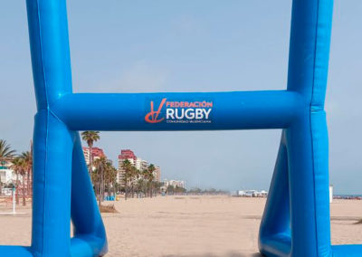 Campo Rugby Hinchable