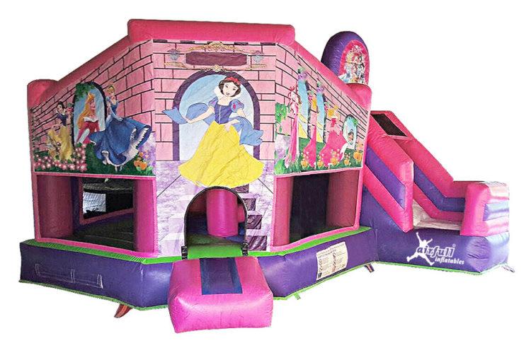 castillo combinado princesas
