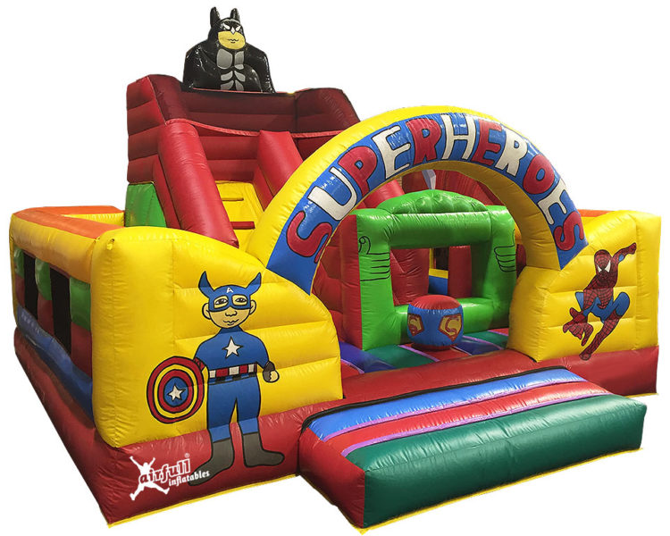 Castillo Combinado Superheroes
