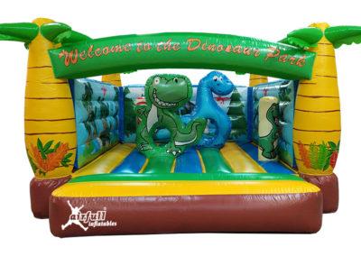 Castillo hinchables dinosaurios
