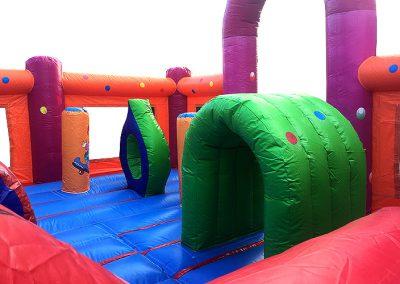 combinado inflable circus