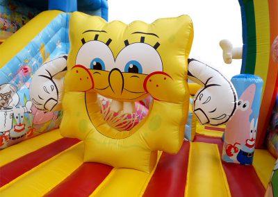 combinado inflable bob esponja
