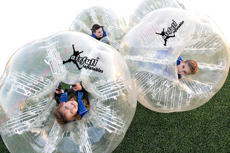 futbol burbuja ninos