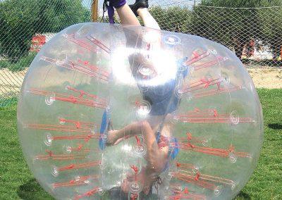 futboll burbuja | bubble soccer
