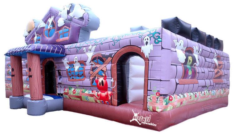 inflable casa encantada