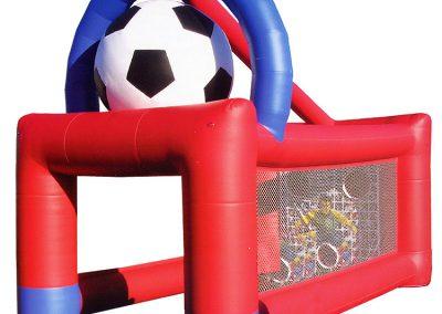portería futbol hinchable