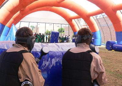 carpa paintball móvil