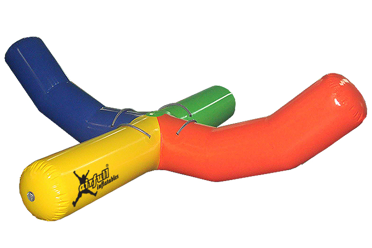 Palo balancín hinchable acuático