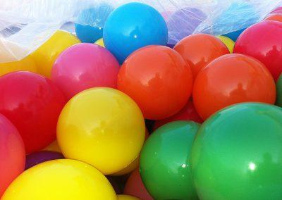 bolas para paques