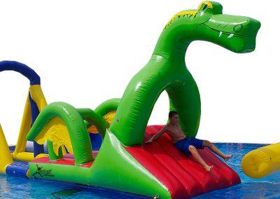 Hinchable dragón acuático