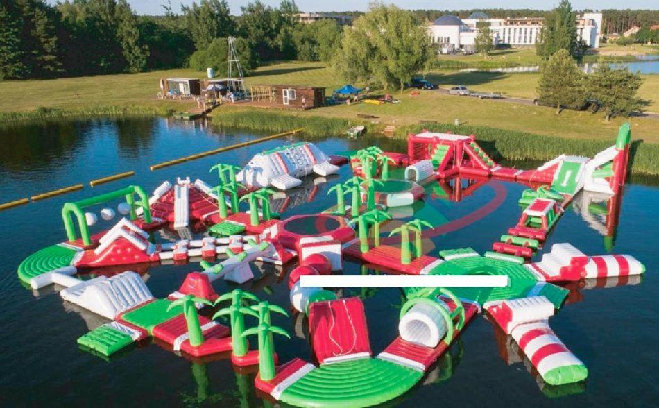 Parque acuático hinchable Airfull