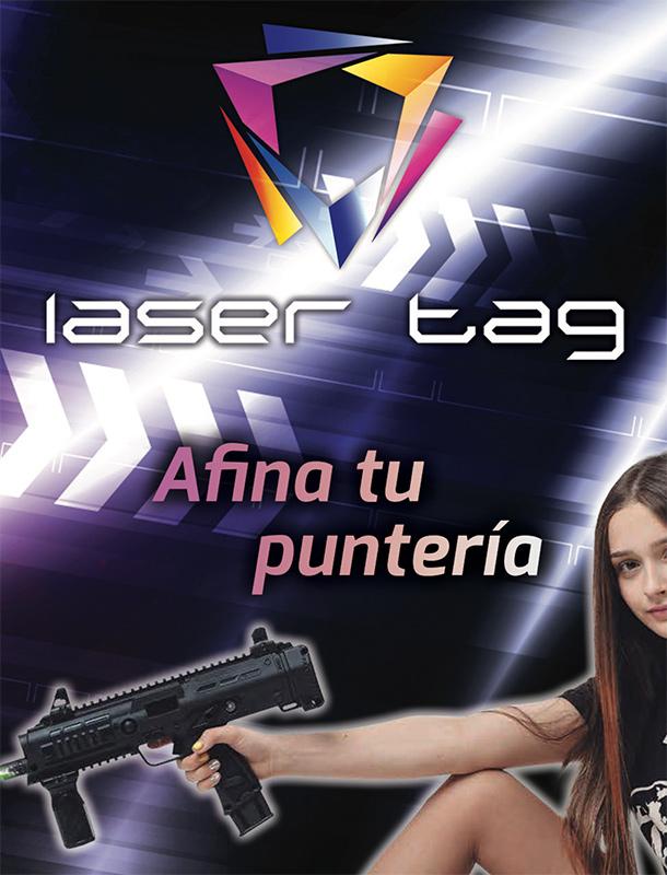 Marcadora Laser Tag