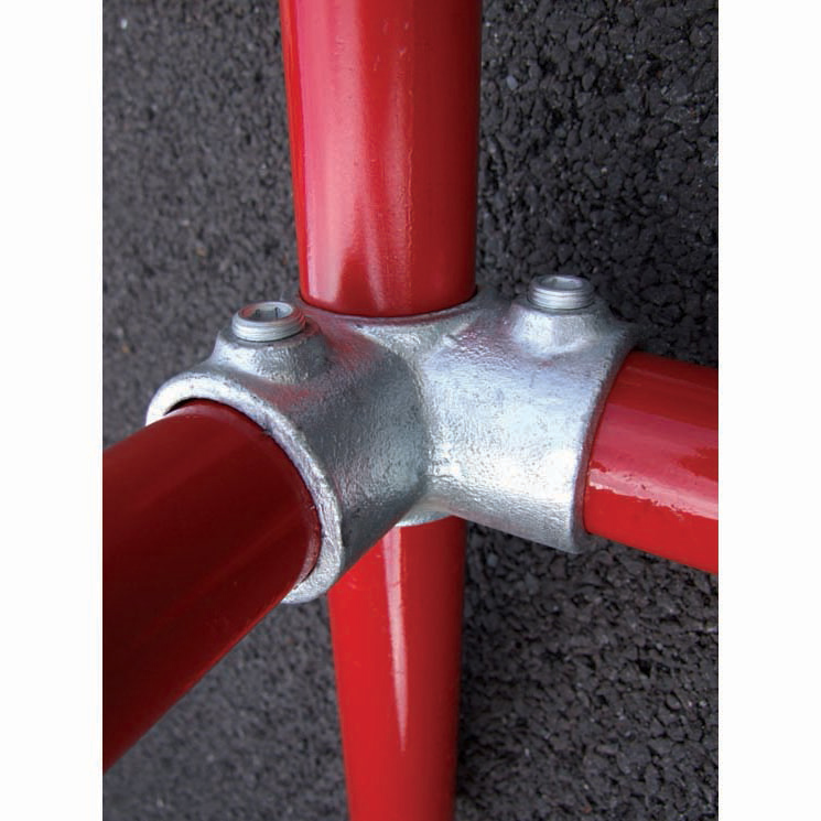 Unión de 3 tubos