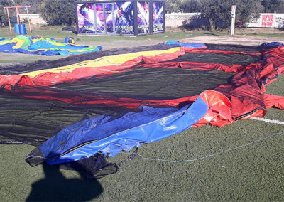 Reparación Carpa Paintball