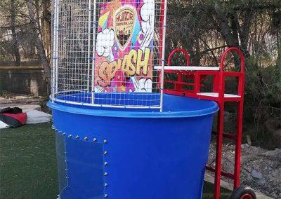 Atracción acuática Splash