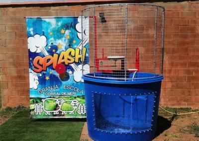 Atracción refrescante Splash