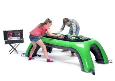 mesa hinchable interactiva