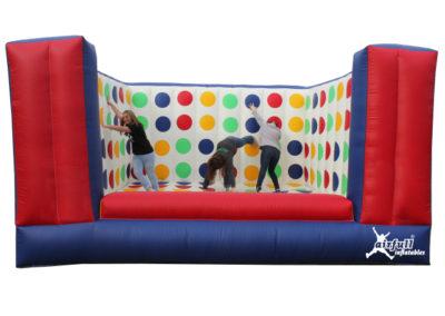 Twister hinchable 3d