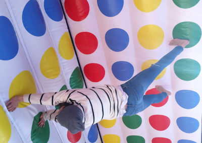 Twister hinchable 3d
