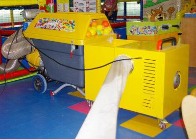 Máquina secado de bolas