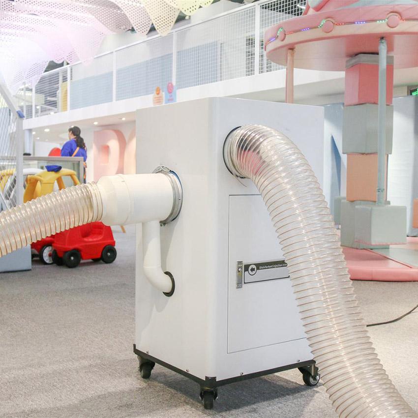 Máquina desinfecta bolas pequeña