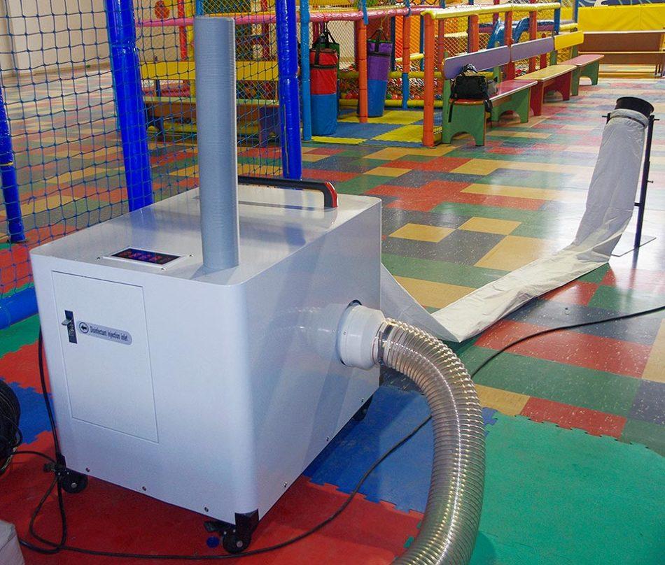 Máquina desinfecta bolas