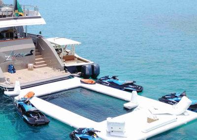 Piscina Hinchable para Yates, mares y marinas