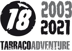 Logo Aniversario 15 años Tarraco Adventure